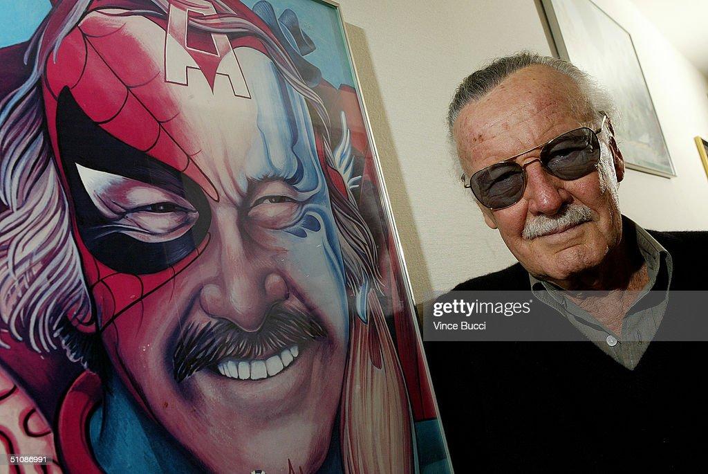 Stan Lee Portrait : News Photo