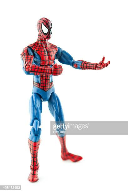 spiderman vertical shot - mask cartoon characters stock pictures, royalty-free photos & images