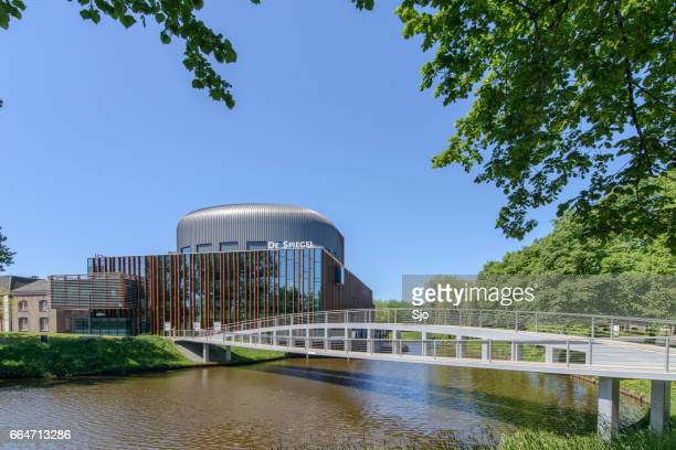 spiegel theatre in zwolle, the netherlands - zwolle stock pictures, royalty-free photos & images
