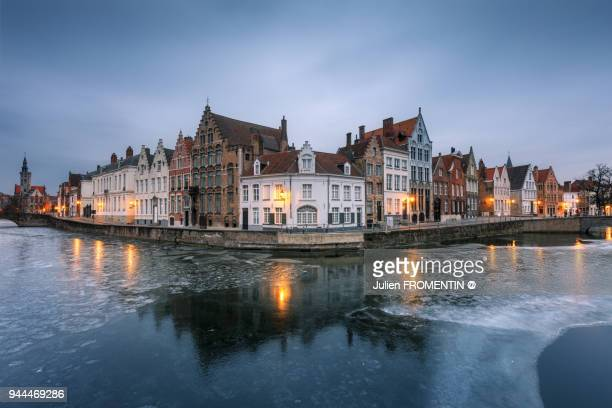 spiegelrei, brugge - bruges stock pictures, royalty-free photos & images