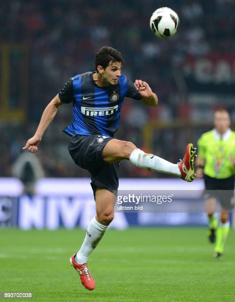 FUSSBALL INTERNATIONAL SERIE A SAISON 2012/2013 7 Spieltag AC Mailand Inter Mailand Andrea Ranocchia
