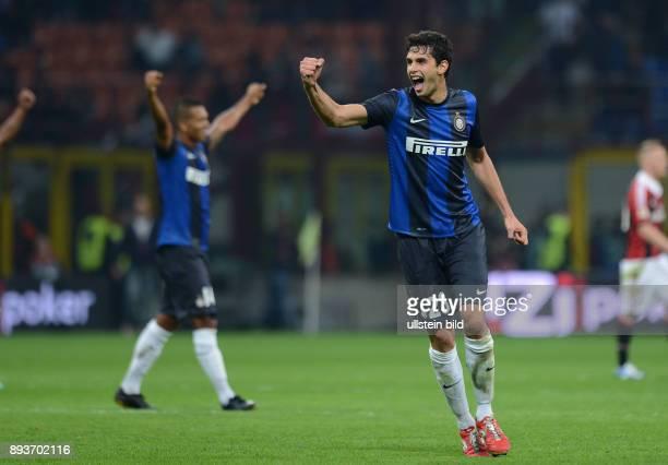 FUSSBALL INTERNATIONAL SERIE A SAISON 2012/2013 7 Spieltag AC Mailand Inter Mailand Inter Andrea Ranocchia