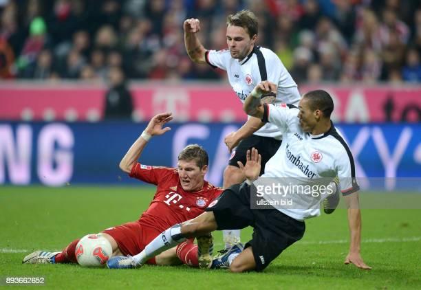 11 Spieltag Saison 2012/2013 FUSSBALL 1 BUNDESLIGA SAISON 2012/2013 11 Spieltag FC Bayern Muenchen Eintracht Frankfurt Elfmeter Foul an Bastian...