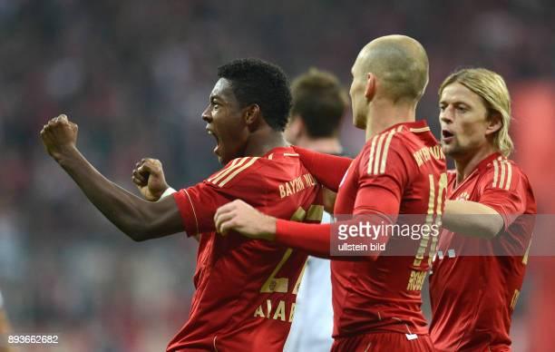 11 Spieltag Saison 2012/2013 FUSSBALL 1 BUNDESLIGA SAISON 2012/2013 11 Spieltag FC Bayern Muenchen Eintracht Frankfurt 0 David Alaba Arjen Robben und...
