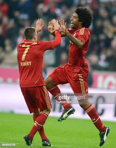 13 Spieltag Saison 2012/2013 FUSSBALL 1 BUNDESLIGA SAISON 2012/2013 13 Spieltag FC Bayern Muenchen Hannover 96 0 durch Dante mit Franck Ribery