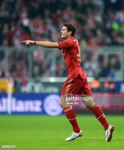 13 Spieltag Saison 2012/2013 FUSSBALL 1 BUNDESLIGA SAISON 2012/2013 13 Spieltag FC Bayern Muenchen Hannover 96 0 durch Mario Gomez