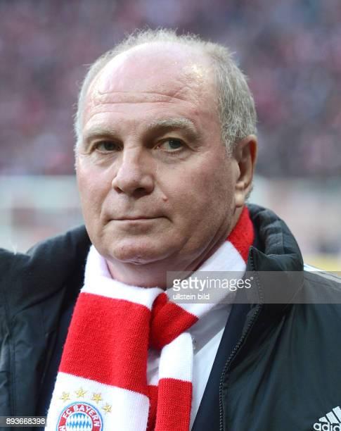 SAISON 2012/2013 13 Spieltag FC Bayern Muenchen Hannover 96 Praesident Uli Hoeness