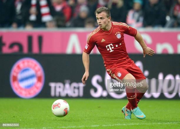 13 Spieltag Saison 2012/2013 FUSSBALL 1 BUNDESLIGA SAISON 2012/2013 13 Spieltag FC Bayern Muenchen Hannover 96 Xherdan Shaqiri