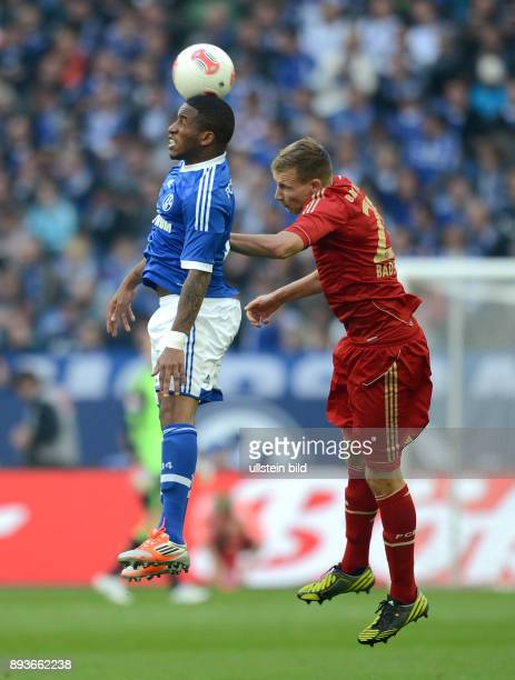 4 Spieltag Saison 2012/2013 FUSSBALL 1 BUNDESLIGA SAISON 2012/2013 4 Spieltag FC Schalke 04 FC Bayern Muenchen Jefferson Farfan gegen Holger Badstuber