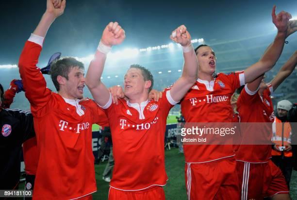 6 Spieltag Gruppe A Saison 2009/2010 FUSSBALL International Champions League SAISON Juventus Turin FC Bayern Muenchen FCB Thomas Mueller Bastian...