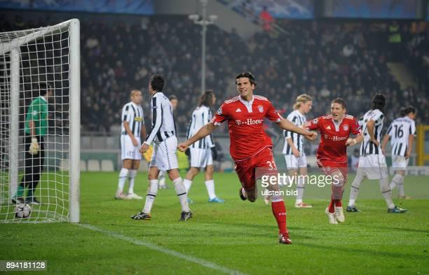 6 Spieltag Gruppe A Saison 2009/2010 FUSSBALL International Champions League SAISON Juventus Turin FC Bayern Muenchen FCB Torschuetze Mario Gomez...