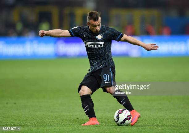 FUSSBALL INTERNATIONAL SERIE A SAISON 2014/2015 31 Spieltag Inter Mailand AC Mailand Xherdan Shaqiri am Ball