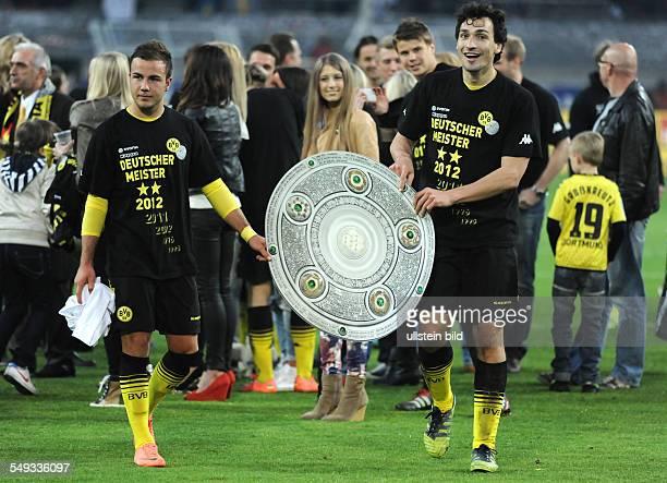 Spieltag, Saison 2011/2012 - Fussball, Saison 2011-2012, 1. Bundesliga, 32. Spieltag, Borussia Dortmund - Borussia Mönchengladbach 2-0, Mats Hummels...