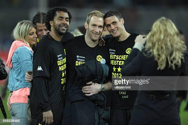Spieltag, Saison 2011/2012 - Fussball, Saison 2011-2012, 1. Bundesliga, 32. Spieltag, Borussia Dortmund - Borussia Mönchengladbach 2-0, Patrick...