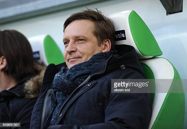 Spieltag, Saison 2012/2013 - Fussball, Saison 2012-2013, 1. Bundesliga, 24. Spieltag, VfL Wolfsburg - FC Schalke 04 1-4, Manager Horst Heldt