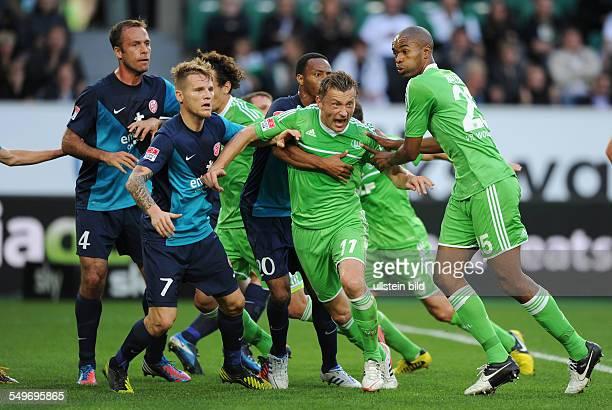 6 Spieltag Saison 2012/2013 Fussball Saison 20122013 1 Bundesliga 6 Spieltag VfL Wolfsburg FSV Mainz 05 vre Naldo Ivica Olic Junior Diaz Emanuel...