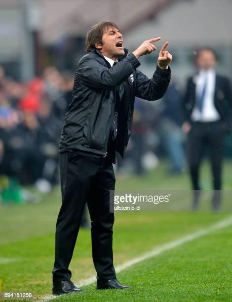 FUSSBALL INTERNATIONAL SERIE A 30 Spieltag SAISON Inter Mailand Juventus Turin Trainer Antonino Conte