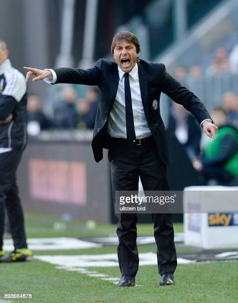 FUSSBALL INTERNATIONAL SERIE A 27 Spieltag SAISON Juventus Turin Catania Calcio Trainer Antonino Conte
