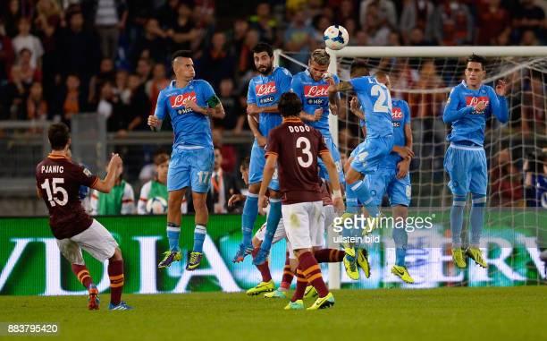 FUSSBALL INTERNATIONAL SERIE A 8 Spieltag SAISON AS Rom SSC Neapel Miralem Pjanic erzielt per Freistoss das Tor zum 10