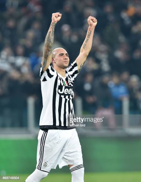 FUSSBALL INTERNATIONAL SERIE A 25 Spieltag SAISON Juventus Turin SSC Neapel Juventus Turin Simone Zaza