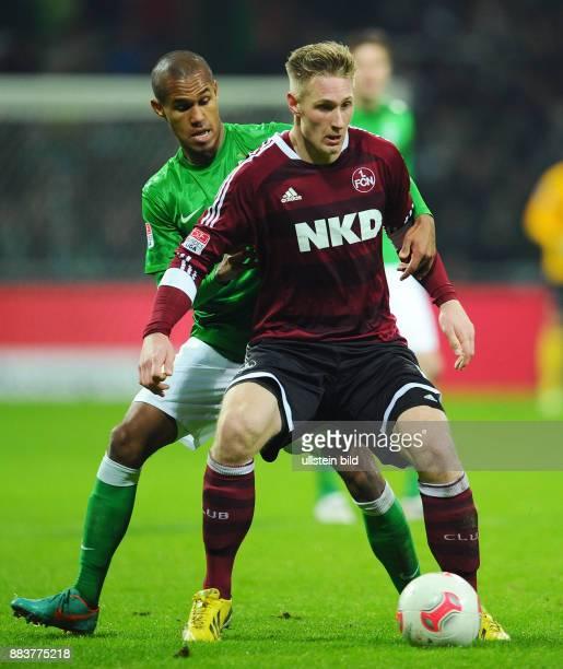 17 Spieltag Saison 2012/2013 FUSSBALL 1 BUNDESLIGA SAISON 2012/2013 17 Spieltag SV Werder Bremen 1 FC Nuernberg Theodor Gebre Selassie gegen...