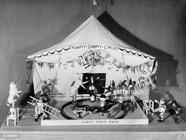 Spielzeugzirkus Humpty Dumpty undatiert vermutlich 1906