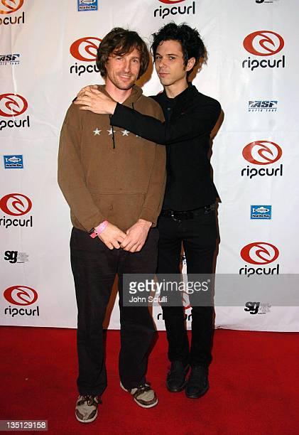 Spike Jonze and Nick Zinner of The Yeah Yeah Yeahs