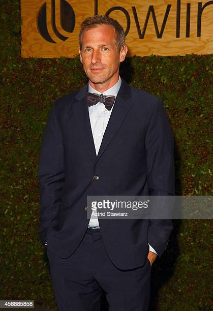 Spike Jonze attends the Lowline AntiGala Benefit Dinner at Skylight Modern on October 8 2014 in New York City