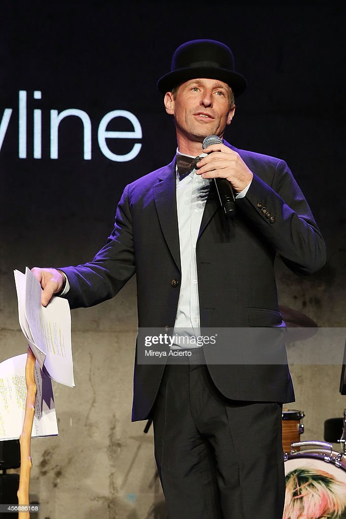 Spike Jonze attends the Lowline Anti-Gala Benefit Dinner at Skylight Modern on October 8, 2014 in New York City.