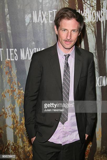 Spike Jonze attends the 'Where the Wild Things Are' at Cinema Gaumont Marignan on December 1 2009 in Paris France