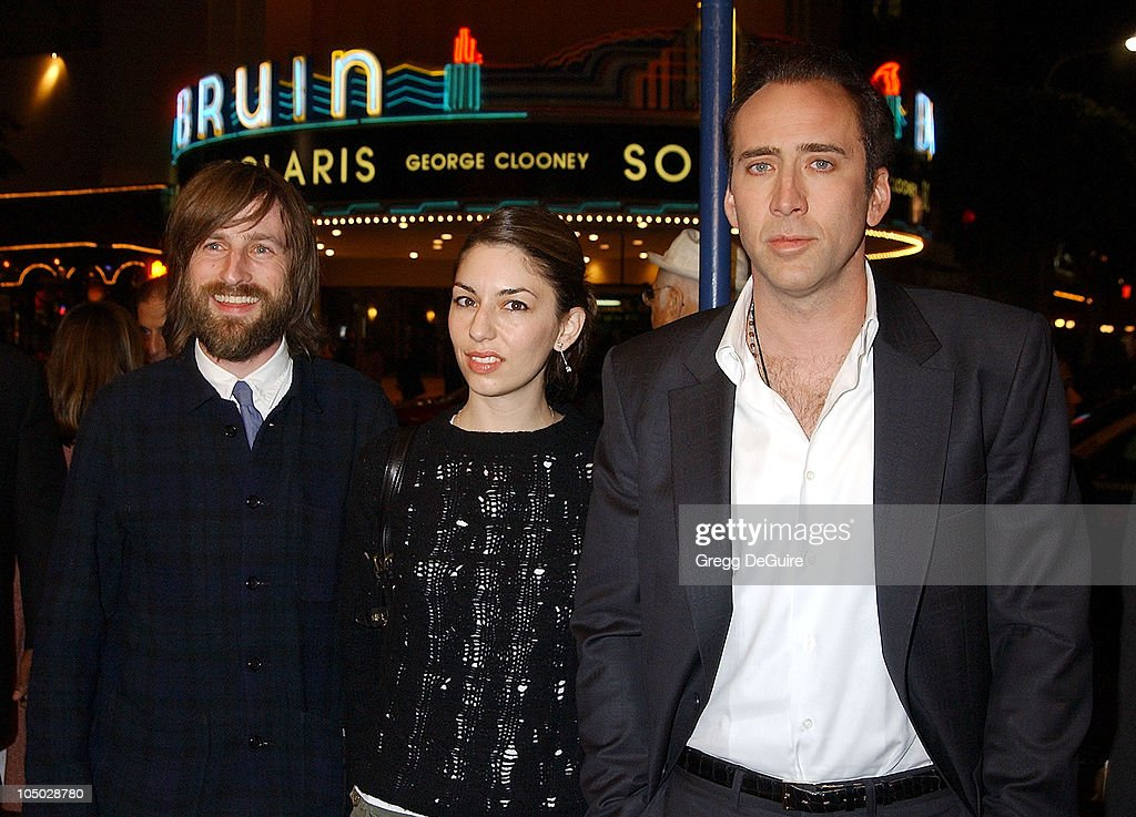 Spike Jonze, director, Sofia Coppola & Nicolas Cage News Photo