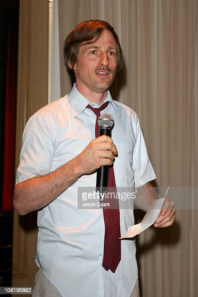 Spike Jonze during 2007 Cannes Film Festival 'Synecdoche New York' Party at LaCote in the Carlson Hotel in Cannes France