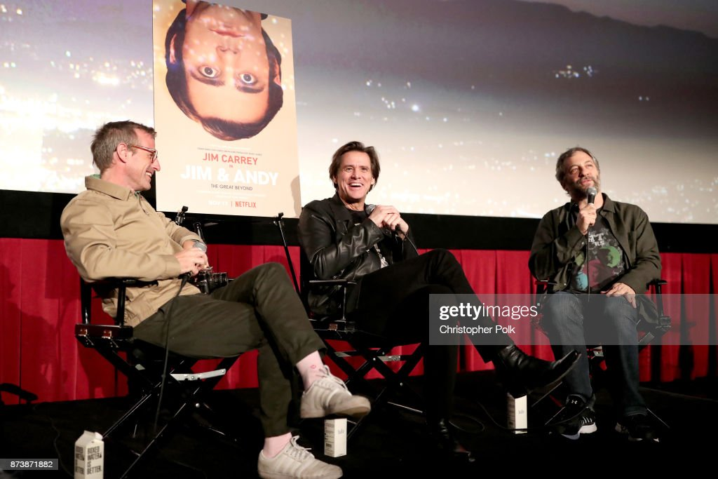Afi fest 2017 presented by audi spike jonze jim carrey and judd apatow speak jim andy the m4hsunfo