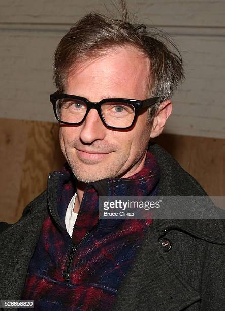 Spike Jonze poses backstage as he visits 'Eclipsed' To launch a dedications series in honor of abducted Chibok Girls of Northern Nigeriaon at The...