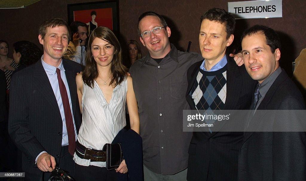 Spike Jonze, Sofia Coppola, producer Ted Hope, director Michel