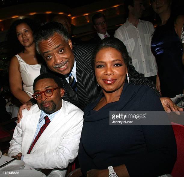 Spike Lee Al Sharpton and Oprah Winfrey **Exclusive**