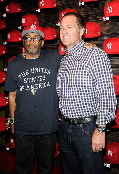 f472559ba70 Spike Lee and CEO of New Era Caps Christopher Koch attend the New Era  Heritage Series