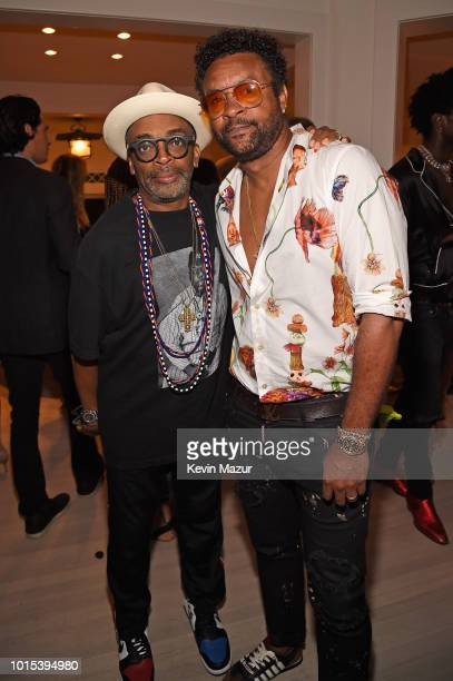 Spike Lee and Shaggy attend Apollo in the Hamptons 2018 Hosted by Ronald O Perelman at The Creeks on August 11 2018 in East Hampton New York