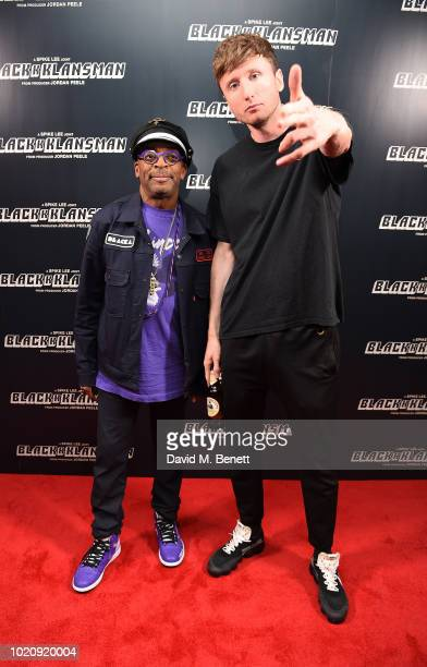 Spike Lee And Steve Stamp Attend The Blackkklansman Special Screening At Ham Yard Hotel On August