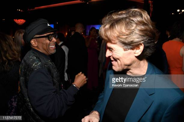 Spike Lee and Willem Dafoe attend the 91st Oscars Nominees Luncheon at The Beverly Hilton Hotel on February 04 2019 in Beverly Hills California