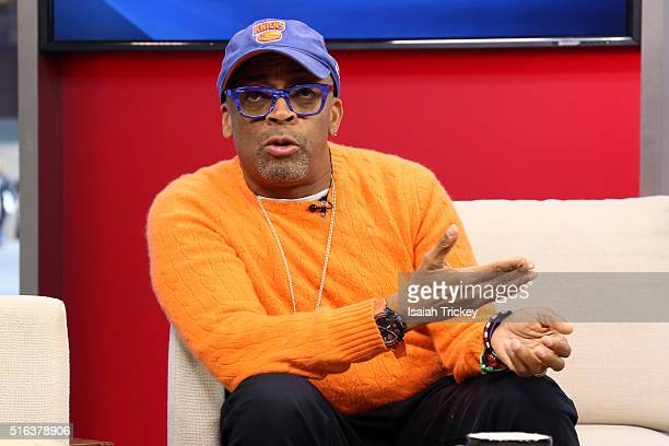 Spike Lee Appears On The Morning Show at The Morning Show Studios on March 18, 2016 in Toronto, Canada.