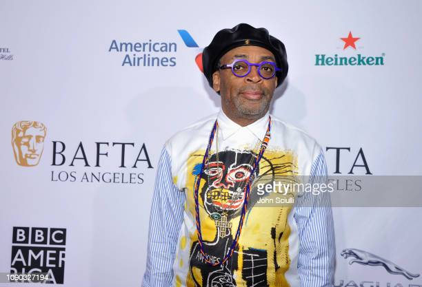 Spike Lee arrives to the BAFTA Tea Party at The Four Seasons Hotel Los Angeles at Beverly Hills on January 05 2019 in Beverly Hills California