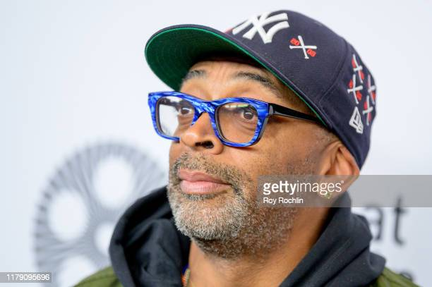 "Spike Lee attend the ""Marriage Story"" premiere at the 57th New York Film Festival on October 04, 2019 in New York City."