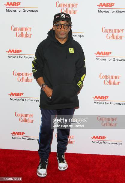 Spike Lee attends AARP The Magazine's 18th Annual Movies for Grownups Awards at the Beverly Wilshire Four Seasons Hotel on February 04 2019 in...