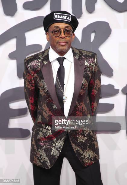 Spike Lee attends Fashion For Relief Cannes 2018 during the 71st annual Cannes Film Festival at Aeroport Cannes Mandelieu on May 13 2018 in Cannes...