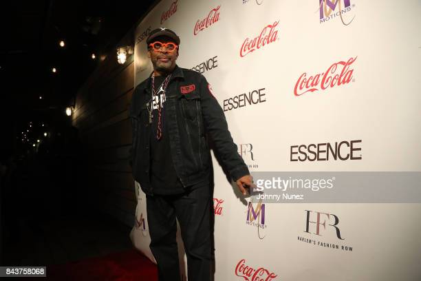 Spike Lee Attends Harlem's Fashion Row at La Marina Restaurant Bar Beach Lounge on September 6 2017 in New York City