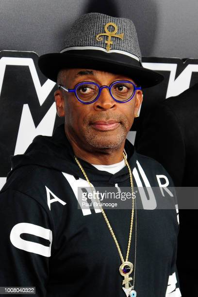Spike Lee attends New York Premiere Of 'BlacKkKlansman' at Brooklyn Academy of Music on July 30 2018 in New York City