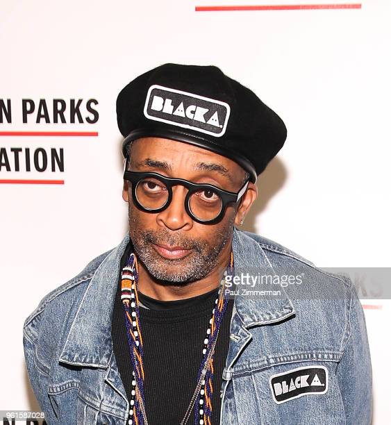 Spike Lee attends the 2018 Gordon Parks Foundation Gala at Cipriani 42nd Street on May 22 2018 in New York City