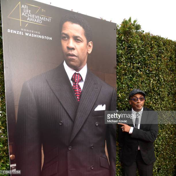 Spike Lee attends the 47th AFI Life Achievement Award honoring Denzel Washington at Dolby Theatre on June 06 2019 in Hollywood California