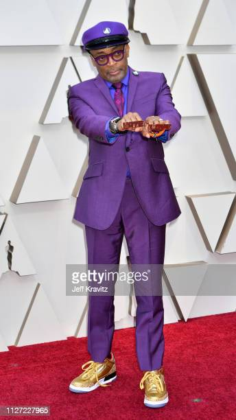 Spike Lee attends the 91st Annual Academy Awards at Hollywood and Highland on February 24, 2019 in Hollywood, California.